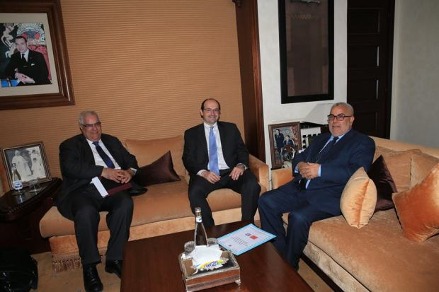 الرباط.. ابن كيران يستقبل رئيس البعثة الاستشارية لصندوق النقد الدولي (صور)
