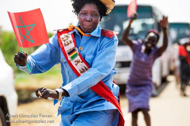 جوبا.. الملك يغادر جنوب السودان