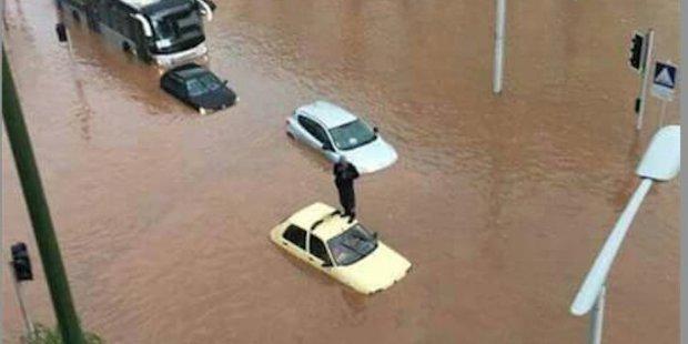 فيضانات سلا.. البام كاعي!!