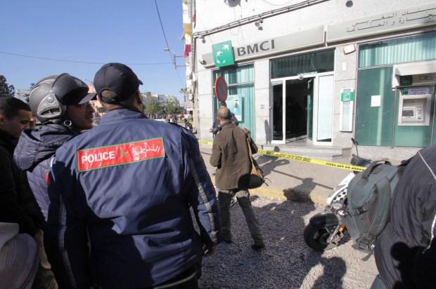 كازا.. اعتقال لصين حاولا سرقة وكالة بنكية