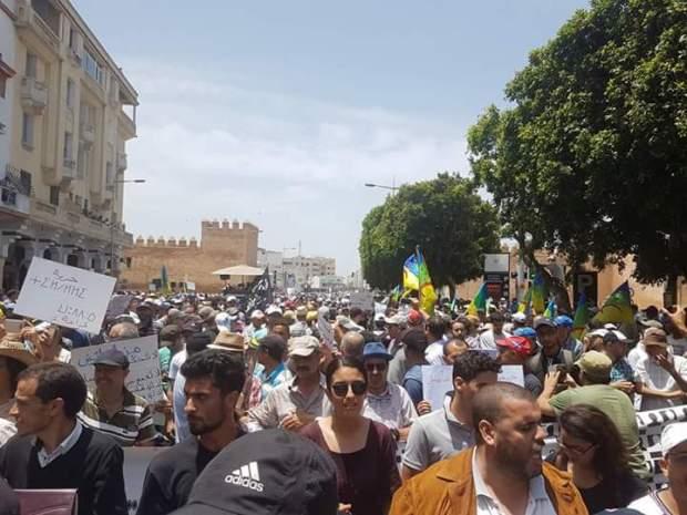 هادي على رقبة لاماب: عدد المشاركين في مسيرة الرباط ما بين 12 و15 ألف!!