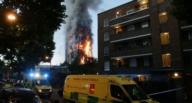 حريق برج غرينفيل في لندن.. الملك يعطي تعليماته لتقديم المساعدة للضحايا المغاربة