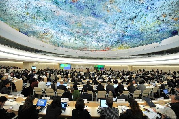 مجلس حقوق الإنسان/ جنيف.. ممثل المغرب يبهدل الجزائر