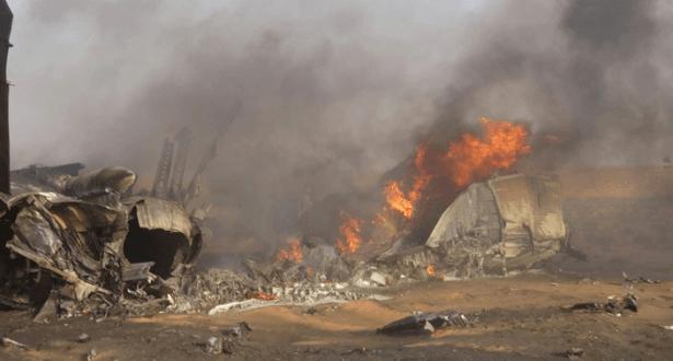 إثر تحطم طائرة عسكرية.. عشرات القتلى في الكونغو الديموقراطية