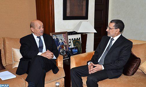 بحضور بوريطة والرميد.. العثماني يتباحث مع رئيس الحكومة الروسي