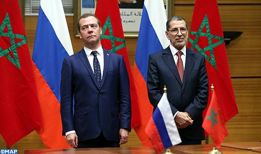 الجمارك والفلاحة والعسكر والتجارة.. اتفاقيات بين المغرب وروسيا