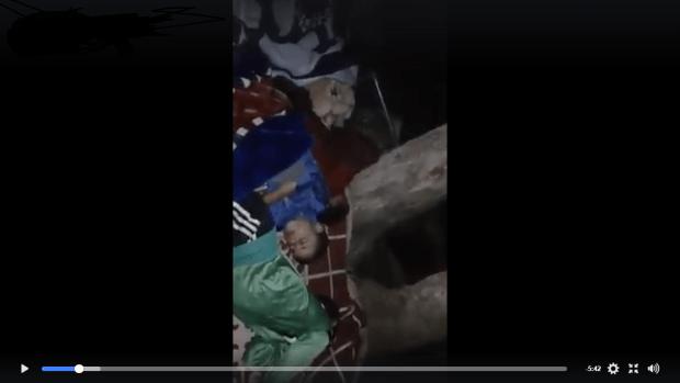 بالفيديو من سيدي يحيى.. أسرة تعيش في الغابة!