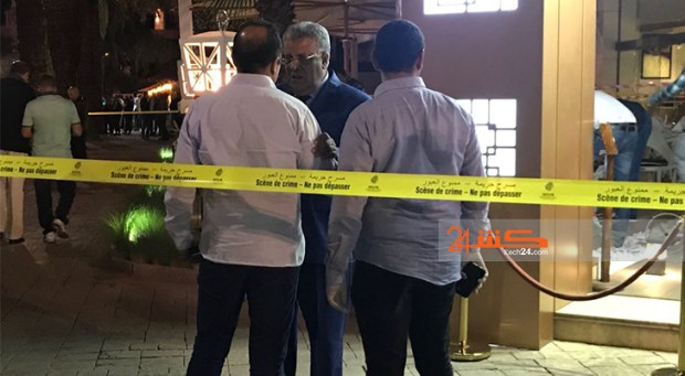 مراكش.. الوالي وكبار الأمن في مقهى الجريمة
