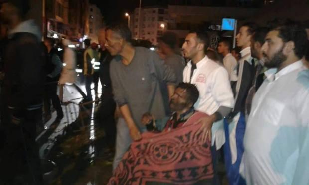 كازا.. بائع متجول يضرم النار في جسده احتجاجا على مصادرة ميزانه