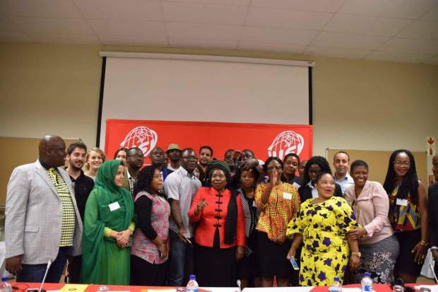 بالصور من جنوب افريقيا.. شبيبة التقدم والاشتراكية في لقاء من تنظيم اليوزي