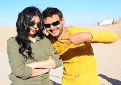 لقطات من الحلقة الثانية مع هيفاء.. رامز جلال يطارد هيفاء وهبي وسط الصحراء (فيديو)