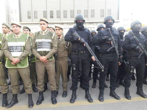 من مختلف التشكيلات الأمنية.. 5 آلاف بوليسي لتأمين احتفالات البوناني في كازا