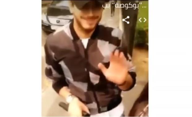 بالفيديو من باريس.. سعد لمجرد مع معجبة