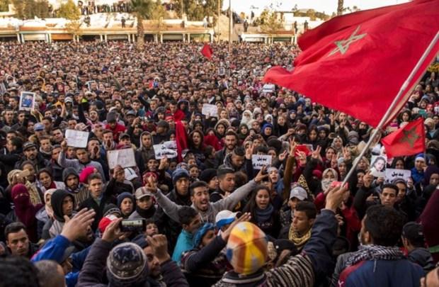 جرادة.. إضراب عام ومسيرة احتجاجية تزامنا مع زيارة رباح