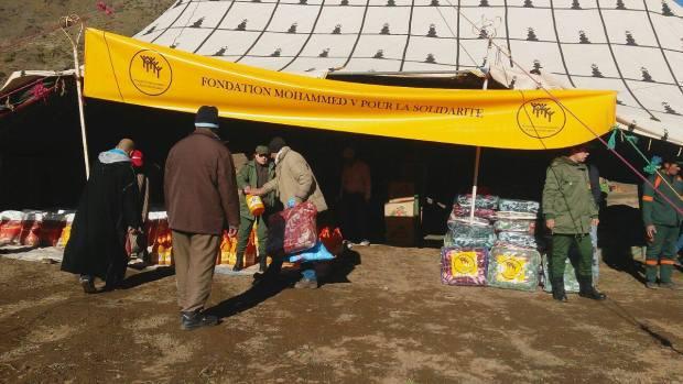 استفادت منها 1500 أسرة.. مؤسسة محمد الخامس توزع مساعدات في قرى بتارودانت
