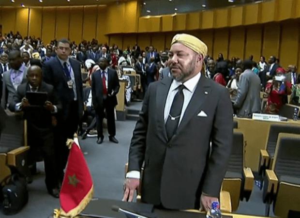 الملك لزعماء إفريقيا: الهجرة حَل وليست مشكلة