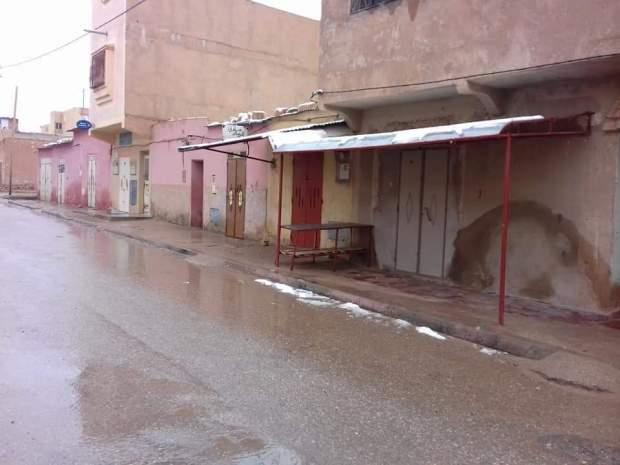 بالصور من تندرارة.. احتجاجات ومعتقلون وإضراب عام
