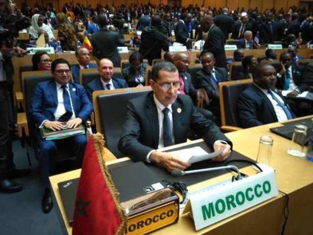 العثماني من أديس أبابا: مشاركة المغرب في قمة الاتحاد الإفريقي عملية وفعالة