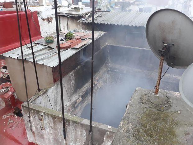 حريق ديور البلدية/ الرباط.. إصابة أربعة أشخاص