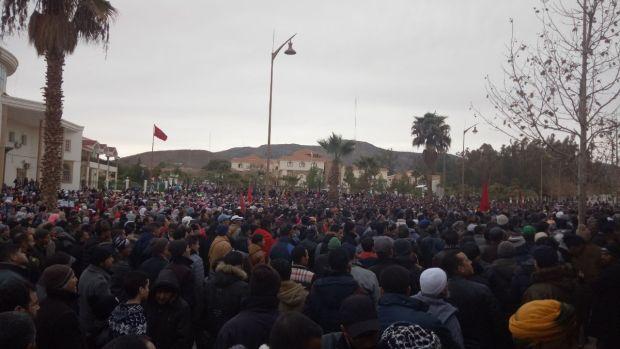 بالصور من جرادة.. الاحتجاجات تدخل أسبوعها الثالث