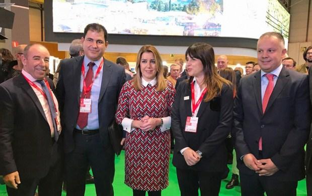 لقاءات مهمة على هامش المغرب الدولي للسياحة.. لمياء بوطالب محرّكة (صور)