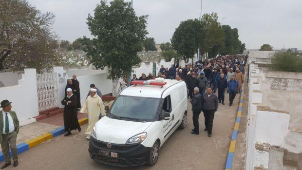 بالصور من مقبرة الغفران/ كازا.. جنازة الوزير السابق أحمد العراقي