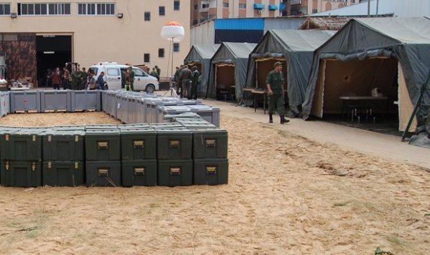 بتعليمات ملكية.. القوات المسلحة تقيم مستشفيين ميدانيين في إقليمي شيشاوة وتنغير