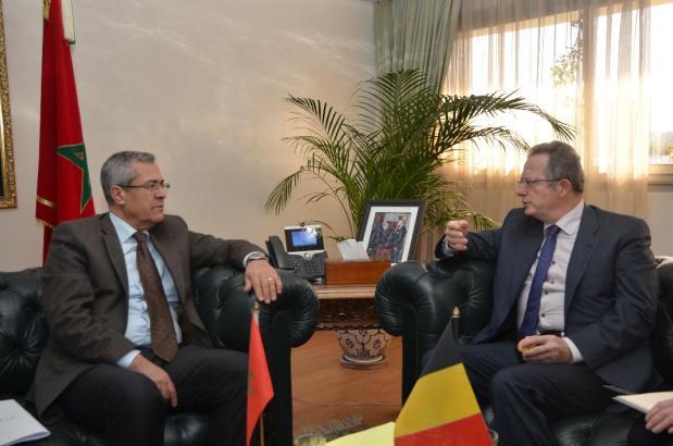 لقاء مع سفير بلجيكا.. الوزير بنعبد القادر يبحث تطوير الإدارة الإلكترونية