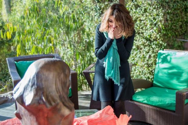 في عيد ميلادها.. جمهور سميرة سعيد يهديها تمثالا (صور)