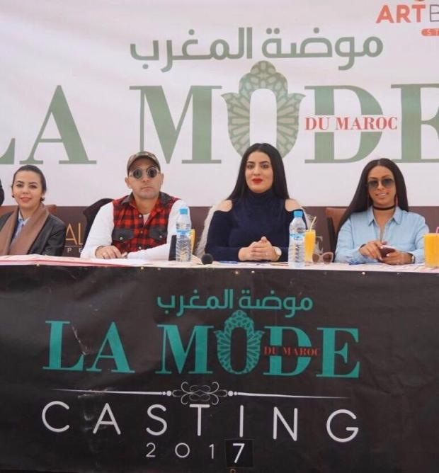 modele du maroc.. ملكة جمال السمراوات حسنا فرح في لجنة التحكيم