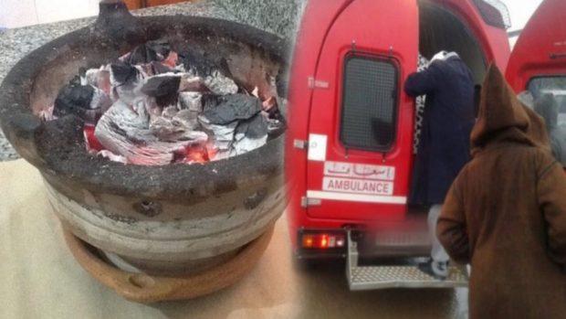 الغاز يقتل.. حضيو من المجمر والكانون