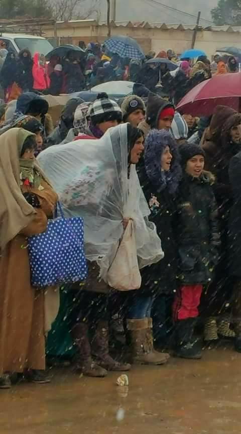 بالصور من جرادة.. احتجاجات وإنزال أمني وإضراب عام