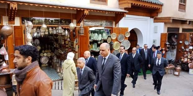 بالصور من فاس.. ساجد كيتسارا فالمدينة القديمة