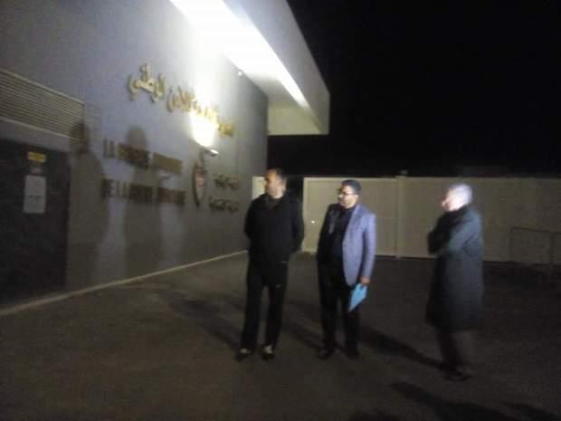 بالصور من أمام مقر الشرطة القضائية في كازا.. محامون في انتظار زيارة بوعشرين