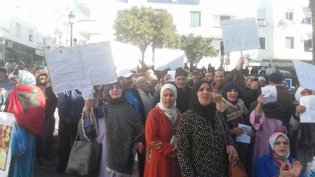 سوق سيدي طلحة/ تطوان.. دورة استثنائية واحتجاج في الشارع وسؤال في البرلمان