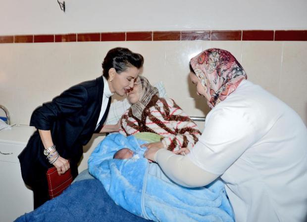 بالصور من مراكش.. الأميرة للا مريم تترأس عملية تلقيح الأطفال