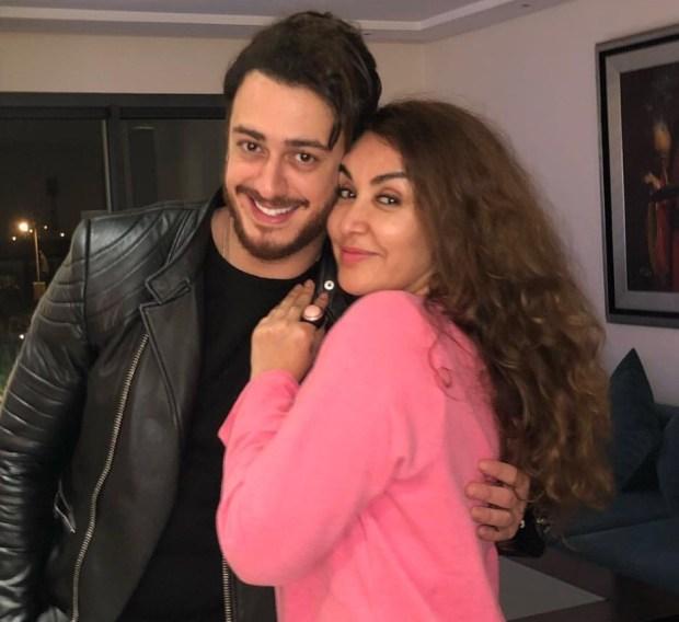 بعد عودته إلى المغرب.. سعد لمجرد رفقة الفنانة حكمت