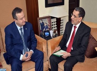 الرباط.. العثماني يثباحث مع وزير خارجية صربيا
