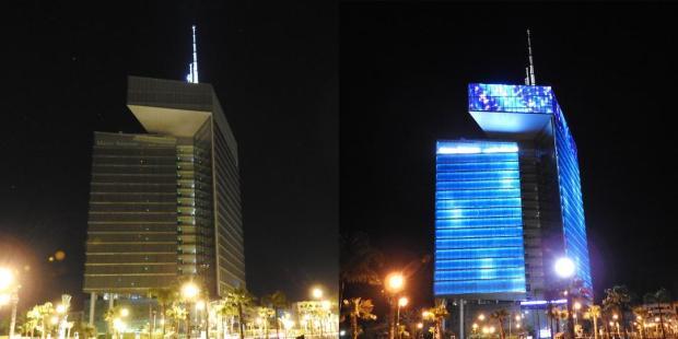 """احتفالا بـ""""ساعة الأرض"""".. برج """"اتصالات المغرب"""" غادي يطفي الضو"""