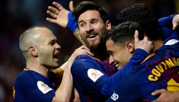 للمرة الرابعة على التوالي.. برشلونة يتوج بكأس ملك إسبانيا (فيديو الأهداف)