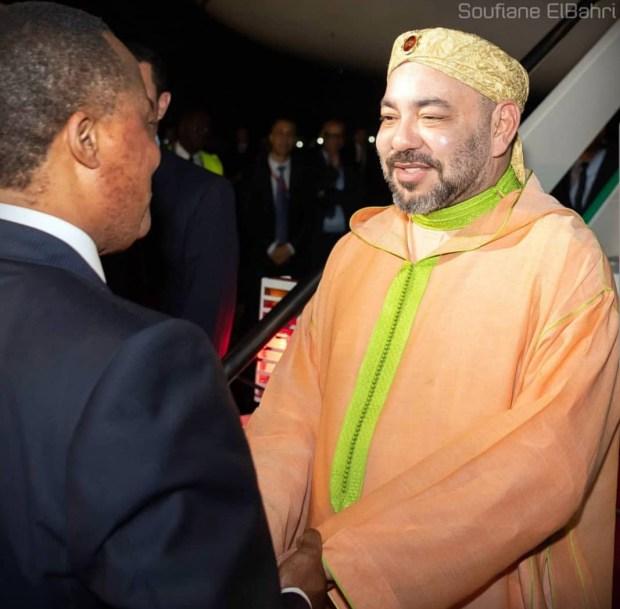 برازافيل.. الملك محمد السادس والرئيس الكونغولي