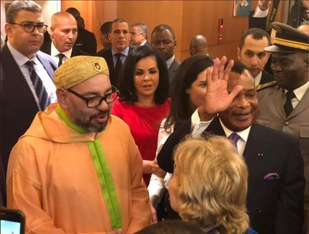 بالصور.. اليوم الأول للملك في الكونغو