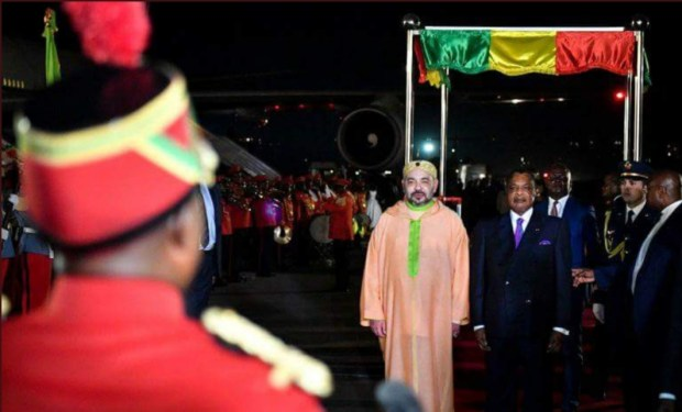 بعد حضوره قمة لجنة حوض الكونغو.. الملك يغادر برازافيل