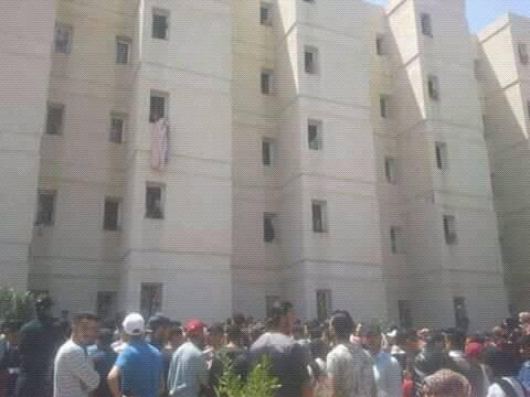 الحي الجامعي لوجدة.. طالبة رمت نفسها من الطابق الثالث