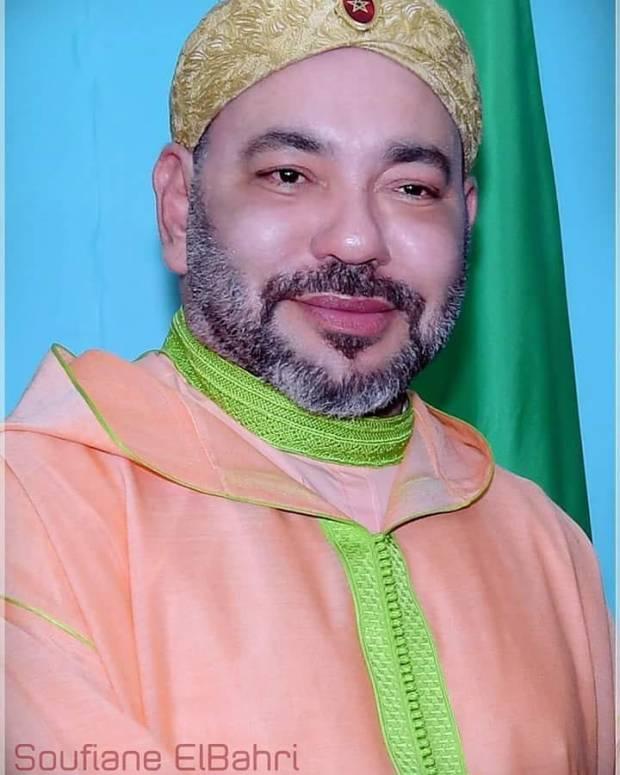 من الكونغو.. صورة للملك محمد السادس في أنستغرام