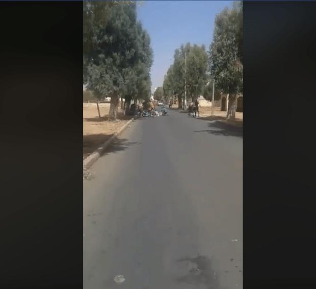 بالفيديو من الفقيه بن صالح.. عيالات تقلبات بيهم كرويلة