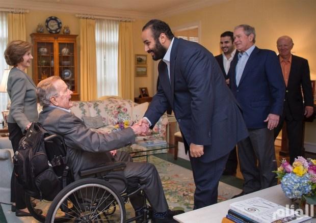بالصور من تكساس.. ولي العهد السعودي في ضيافة جوج بوش