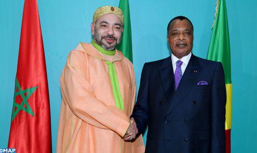 الكونغو.. الملك محمد السادس يصل لبرازافيل كضيف خاص