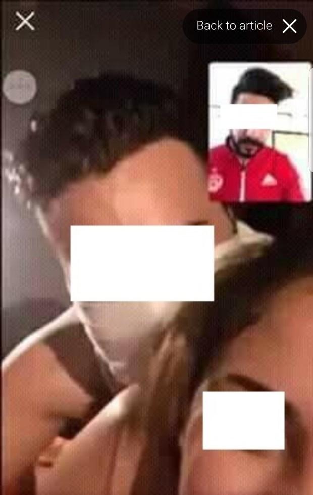"""هاد الشي اللي بقا.. مغربية درات """"لايف"""" لعلاقة جنسية مع صاحبها فالفايس بوك"""