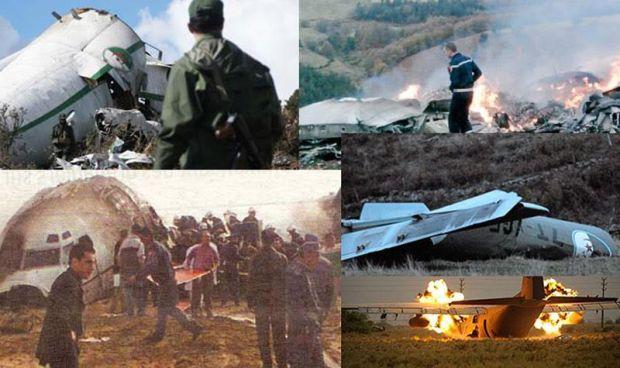 كرونولوجيا.. 11 طائرة طاحت في الجزائر في 15 سنة الأخيرة